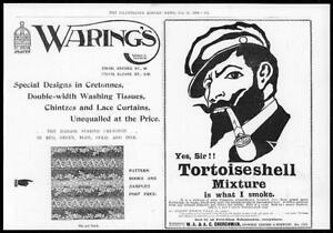 1899-Antique-Print-ADVERTISING-Churchman-Tortoise-Shell-Warings-Curtain-95