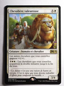 Chevaliere-valeureuse-MTG-Magic-Francais
