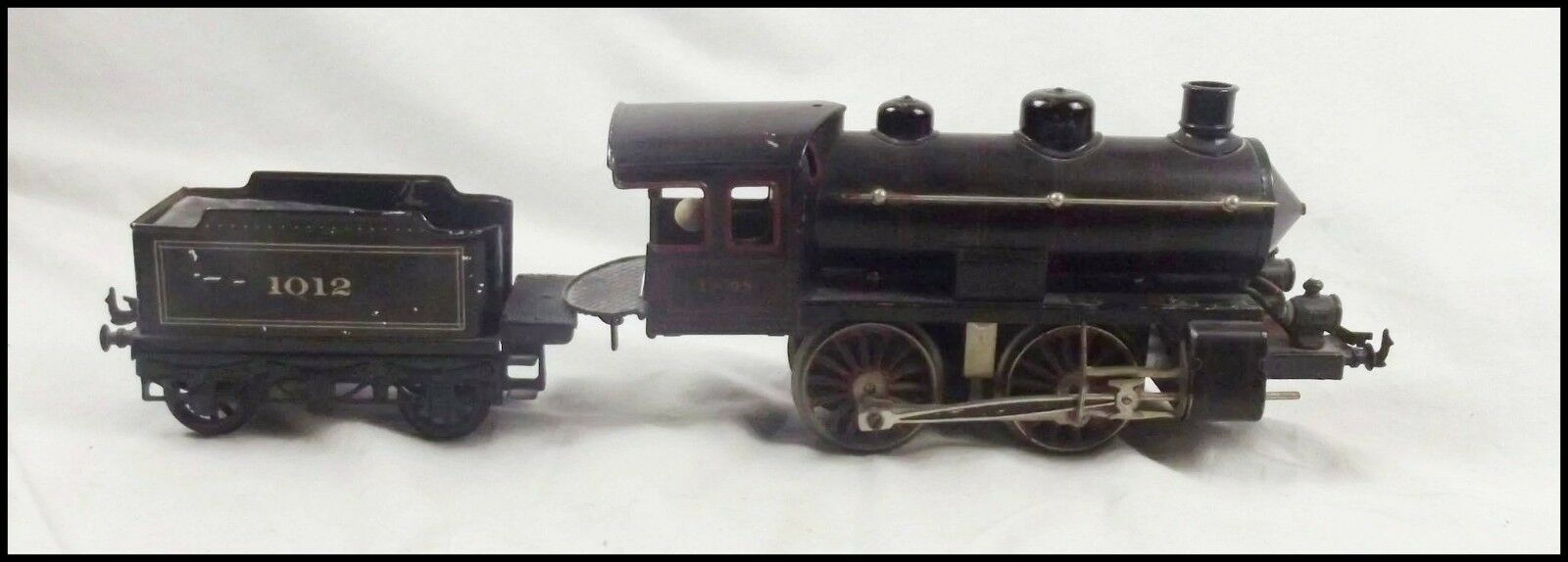 Bing Gauge 1 Electric Tinplate Compound 4-4-0 Locomotive & Tender
