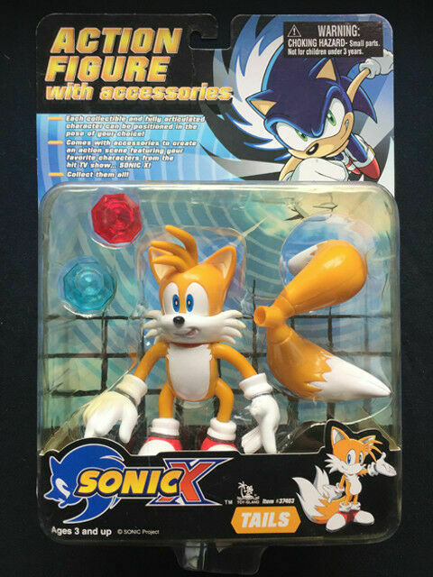Toy Island 2000 Sega Sonic The Hedgehog X Tails Action Poseable 5 Inch Figure For Sale Online Ebay