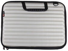 "TechByte Laptop Sleeve Case Silver Colored 15"" inch For MacBook Tablet Notebooks"