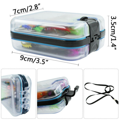 Fly Fishing Flies Assortment Dry Hooks For Bass Salmon Trout Fly Fishing Lures