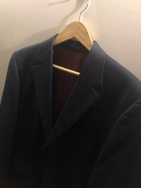 Austin Reed Westminster Mens Dark Navy Single Breasted Suit Blazer Jacket 42r For Sale Ebay