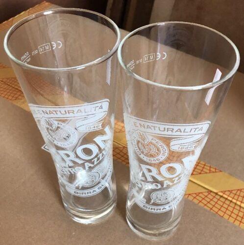 Set Of 8 Peroni Nastro Azzurro HALF PINT Glasses 10oz Brand New 100/% Genuine