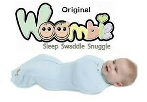 Customer Returns Original WOOMBIE Baby Cocoon Swaddle Blanket ~Choose Size/Color