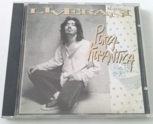 MARCO LIVERANI PORCA ROMANTICA CD ALBUM RARO OTTIMO SPED GRATIS SU + ACQUISTI!!!