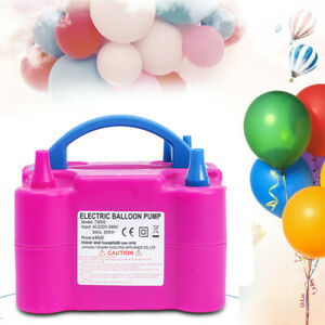 600W-Electric-Balloon-Pump-Inflator-Air-Blower-Two-Nozzle-Party-Portable