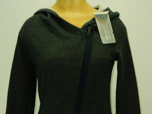 NWT $100 Under Armour Women/'s UA Studio Urban Uptown Fitted Hoodie Full Zip