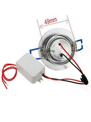 4pcs 1W LED UV 395nm Ceiling Down Light Cabinet Recessed Lamp 85-265V//12V-24V