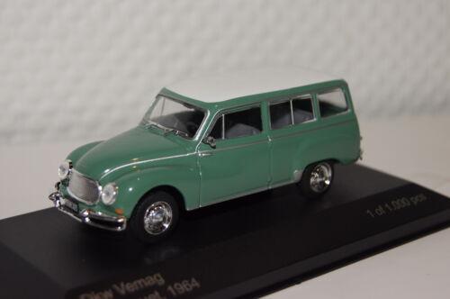 DKW Vemag 1964 grün-weiß 1 of 1000 1:43 Whitebox neu & OVP WB103