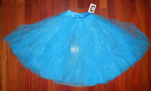 NWT Mainstreet Romantic Skirt w//trunks Turquoise Child Adult sizes