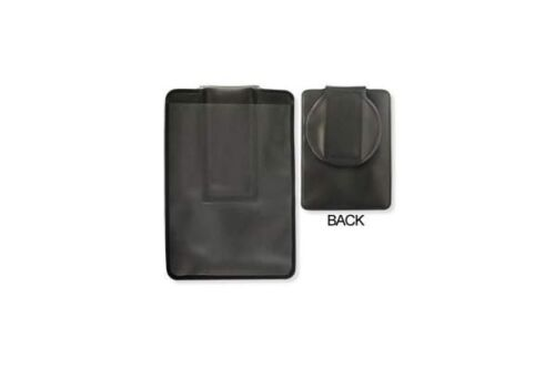 """Shielded Vertical Magnetic Badge Holder Circular Flap 50 qty 2 3//8/"""" x 3 3//8"""""""