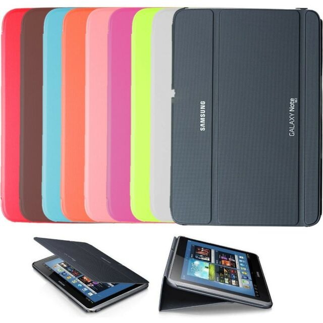SAMSUNG GALAXY NOTE 10.1 SM-P601 2014 N8000 SLIM BOOK COVER CASE SHELL STAND