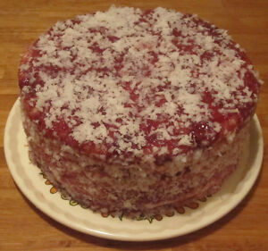 Raspberry Zinger Cake Recipe