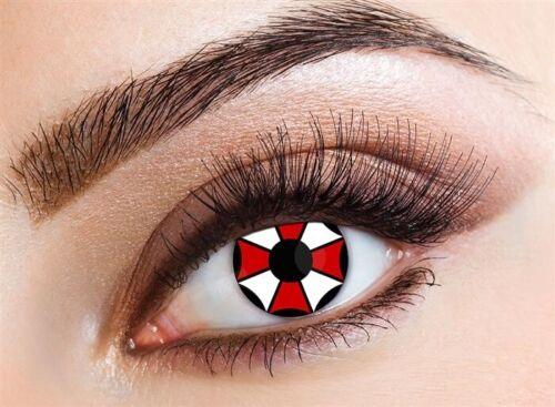 HAZA original des lentilles de contact souples Umbrella Corporation 2 Pièce
