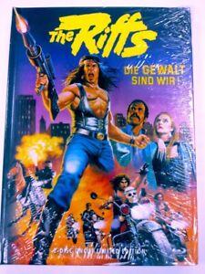 The-Riffs-I-Guerrieri-Del-Bronx-Limited-333-Mediabook-Cover-B-DVD-Blu-Ray