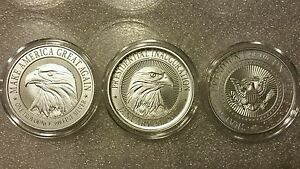 Donald Trump 3 Oz 999 Silver Coin Collectors Set Campaign