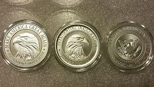 Donald Trump 3 Oz 999 Silver Coin Collectors Set Campaign