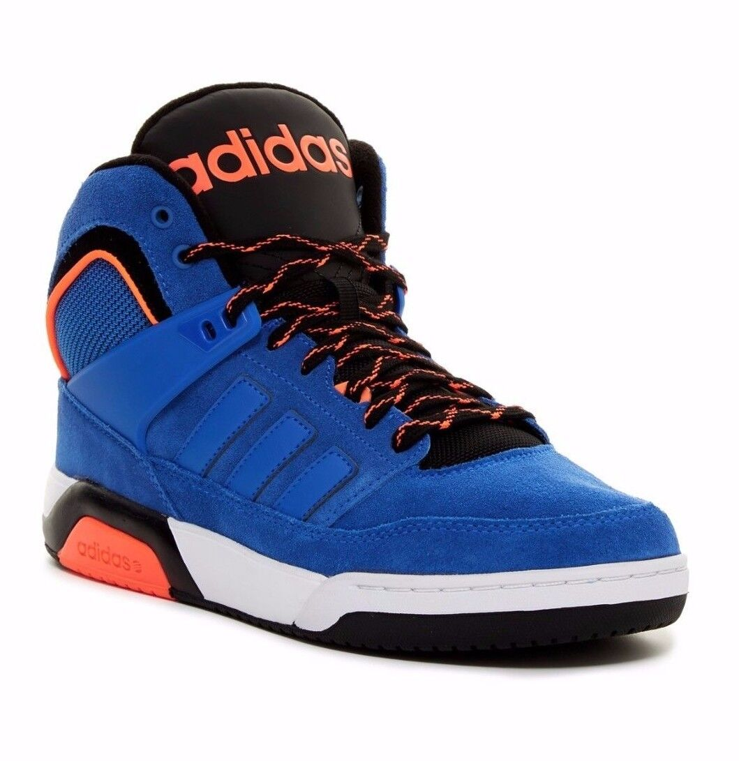 NIB MENS ADIDAS CTX9TIS FORUM MID PRO blueE BLACK WHITE ATHLETIC SNEAKERS SHOES