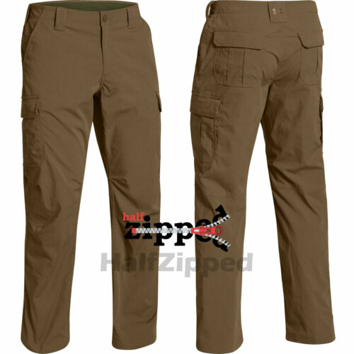 UNDER ARMOUR PANTS Men/'s Cargo UA Storm Tactical Patrol Office Workwear 1265491