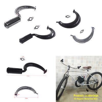 Muffler Exhaust Pipe Flange Gasket  For Motorised Bike 49cc 66cc  80cc H//P