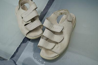 ECCO Damen women Schuhe Sommer Sandalen Klett V Gr. 35 Leder beige TOP #6 | eBay