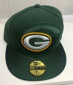 New Era Size 7 5 59fifty Nfl Cap Green Bay Packers Sideline Low Profile Hat Nfl Ebay