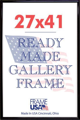 deluxe poster frame frames 27 x 41 black