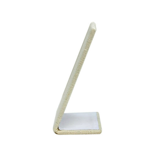 "5 PC Earring Pendant Holder Soft Linen Beige Jewelry Display 2-1//2/"" x 3-5//8/"""