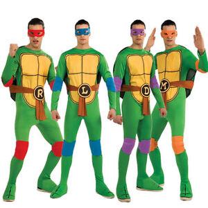 Teenage Mutant Ninja Turtle Costume Adult Female Superhero Halloween Fancy Dress