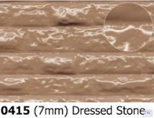 0415 Slaters 7mm Dressed Stone 290mm x 170mm Plastikard