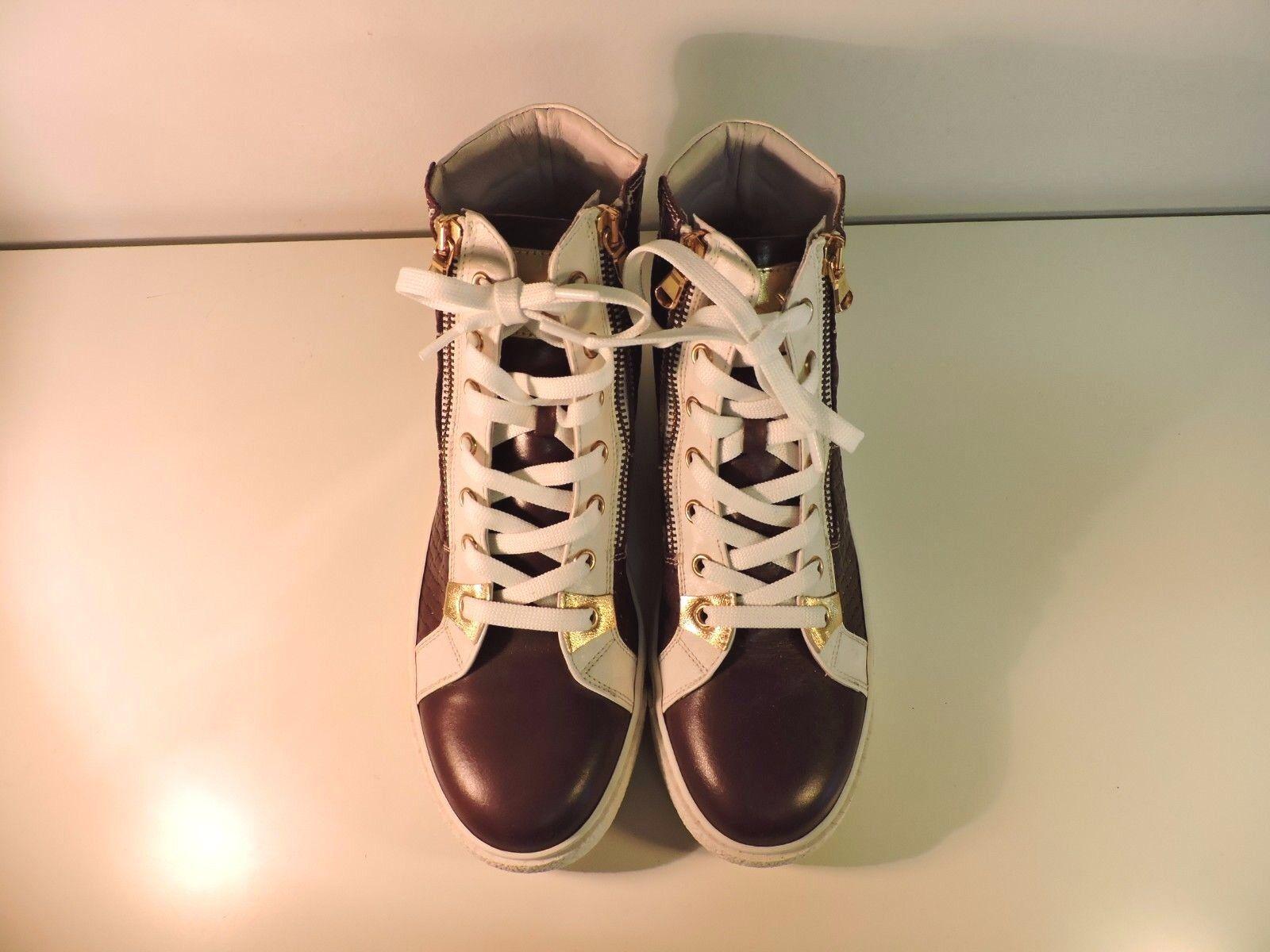 Zapatos de mujer baratos zapatos de mujer SNEAKERS PELLE ALTE N.36 37 38 39