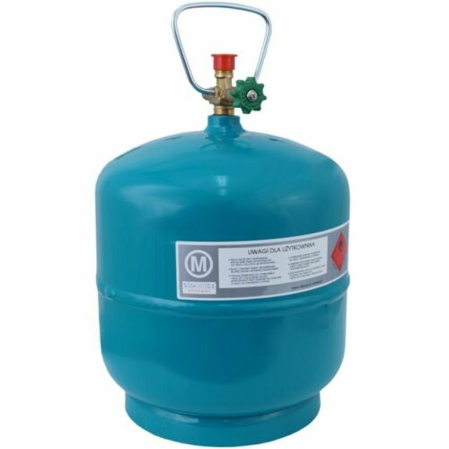 Vide Befüllbare bouteille de gaz 3 kg//7,2 L Camping Barbecue bateau Propane Butane Gas
