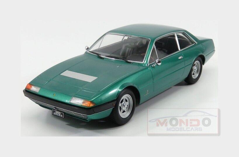 Ferrari 365 Gt4 22 1972 Green Met KK SCALE 1:18 KKDC180164 | Emballage Solide  | Matériaux De Haute Qualité  | Excellente Qualité