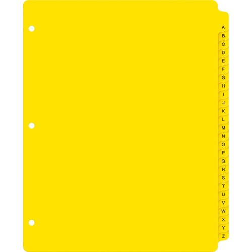 """Avery Dividers A-Z Extra-Wide 9-1//20/""""W x 11-1//20/""""L 26//Set YW 23081"""
