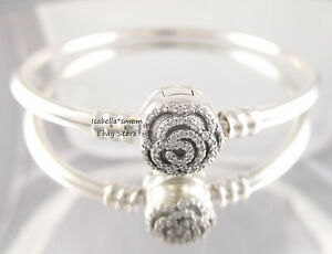 21f9177e0 Image is loading Disney-BEAUTY-AND-THE-BEAST-Authentic-PANDORA-Bangle-