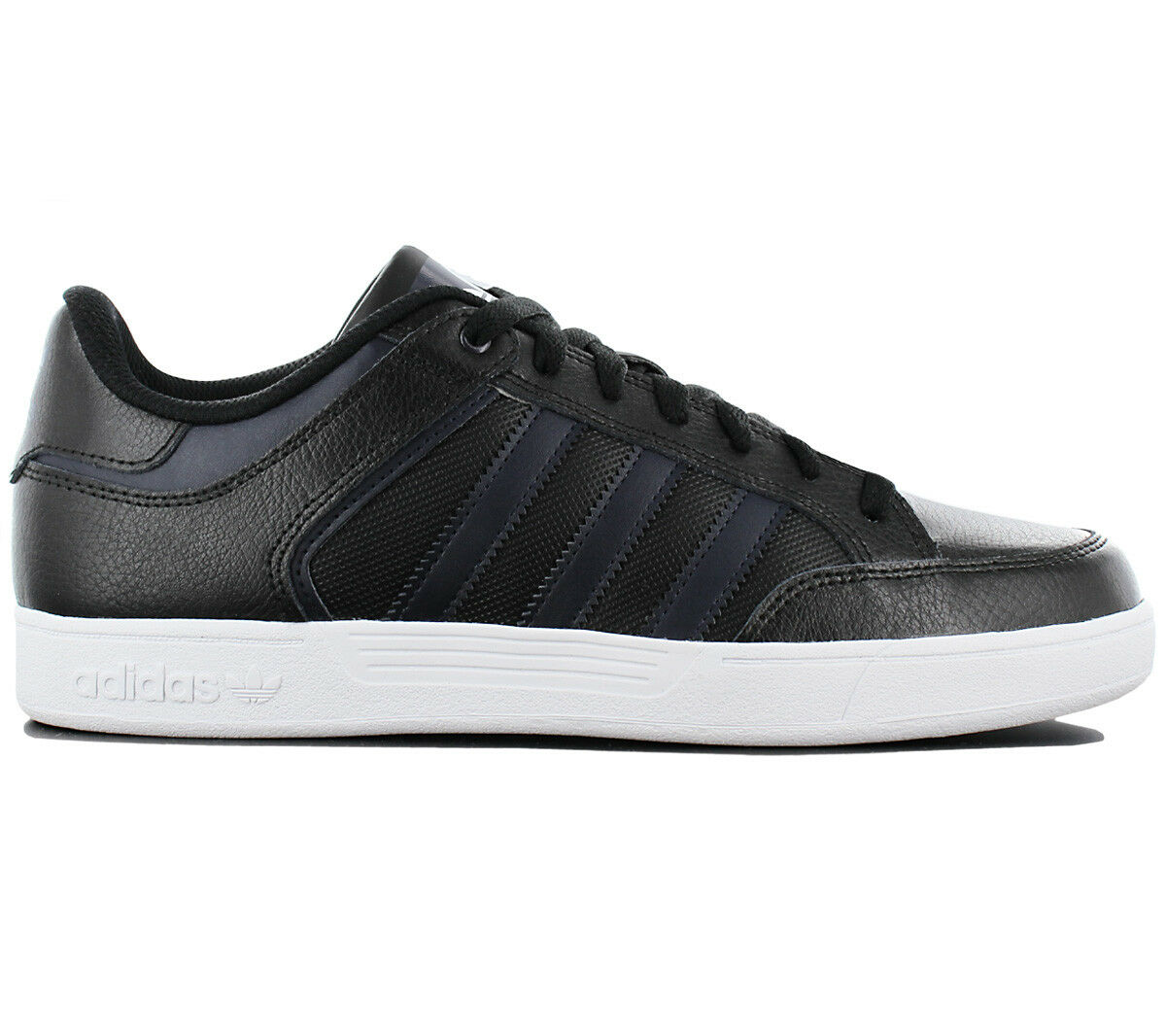 Adidas Varial Low Men's Sneakers Shoes Leather Black Skate Shoes by4057 NEW