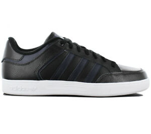Adidas Varial Low Men s Sneakers Shoes Leather Black Skate Shoes ... d412429c7