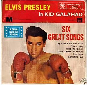 Kid-Galahad-1962-Elvis-Presley-Original-Movie-Soundtrack-Record-EP