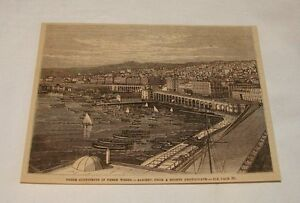 1879-magazine-engraving-VIEW-OF-ALGIERS-Algeria
