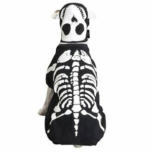 Casual-Canine-Skeleton-Glow-Bones-Dog-Halloween-Costume-XS-XL