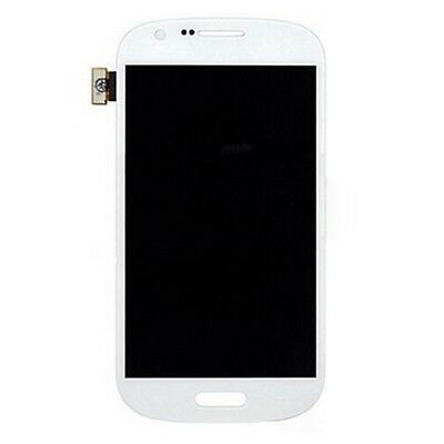 DISPLAY LCD+TOUCH SCREEN PER SAMSUNG GALAXY EXPRESS GT-I8730 VETRO VETRINO BIANC