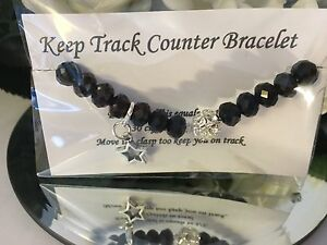 1 x keep track of weight loss counter bracelet hand made ebay