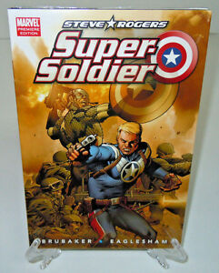 Steve-Rogers-Super-Soldier-Captain-America-Marvel-HC-Hard-Cover-New-Sealed