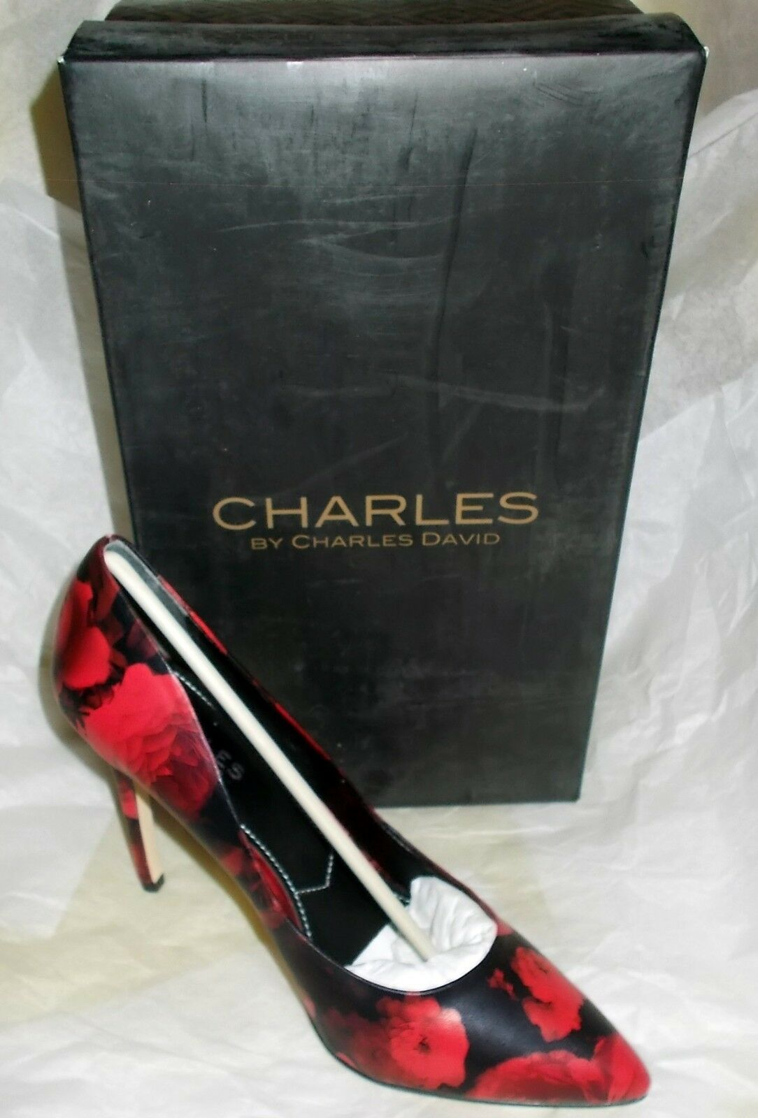 New Charles by by by Charles David Women's Pact Dress Pump pink Size 8.5 9bca20