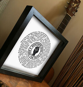 7 inch single  Valentine/'s Day Gift NORTHERN SOUL VINYL RECORD Framed Print
