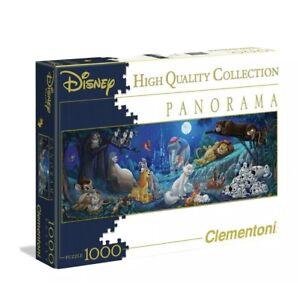 Clementoni-Disney-panorama-034-Douce-nuit-034-1000-PC-Puzzle
