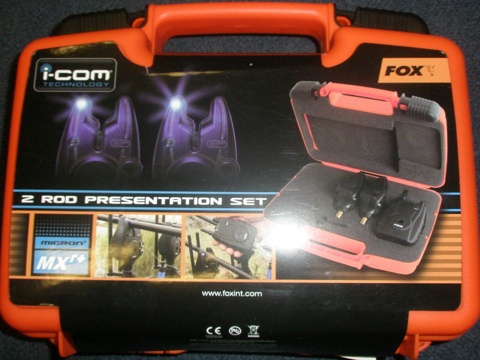Fox  Micron Mxr+ 2 Alarma (Todo Azul) y Receptor Juego Pesca de Cochepa Anzuelo  precio mas barato