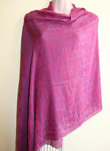 Silk-blend-printed-Water-Shawl-Scarf-Made-in-Nepal