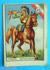 figurines cromos card figurine v.a.v. vav la guerra nostra 46 italia artiglieria